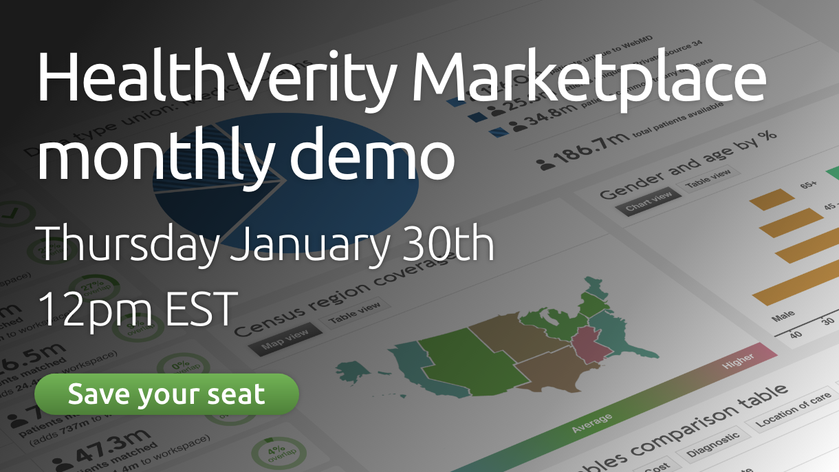 Homepage image - HealthVerity Marketplace demo 20-01-30