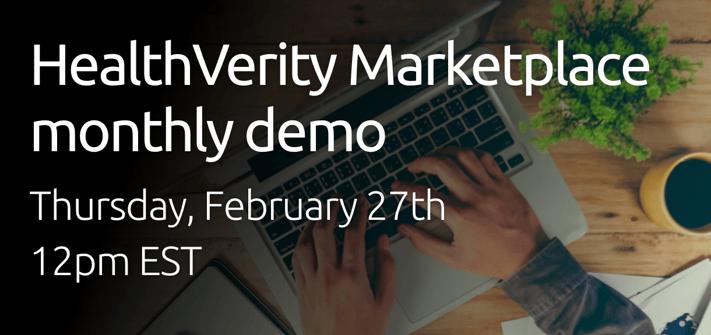Landing page image - HealthVerity Marketplace demo 20-02-27